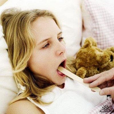 горло болит и не болит: