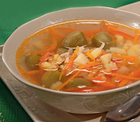 суп из свиных костей рецепты с фото