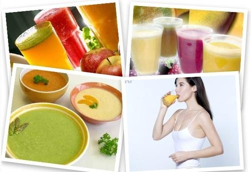Как сидеть на жидкой диете