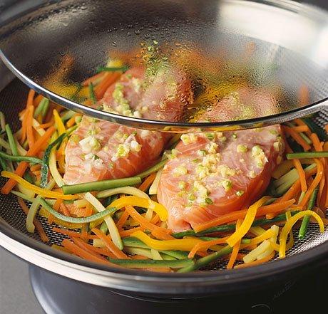 Диетические блюда из пароварки рецепты