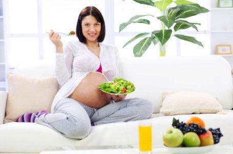 Как похудеть беременной женщине