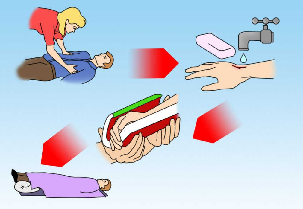 первая помощь при аллергии в домашних